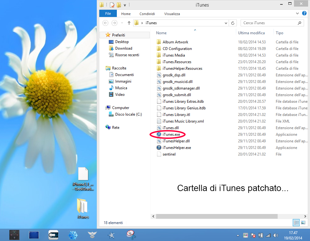 iTunes remendados